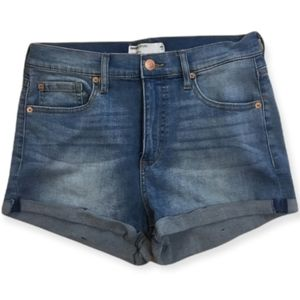 Women's Garage Jean Shorts High Rise